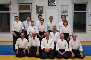 Aikido Class Dojo Aïkido La Rochette April 2018