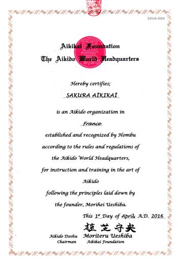 Sakura-Aikikai-certification-s